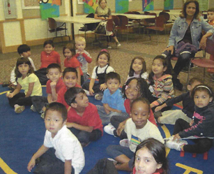 Picture of preschool children